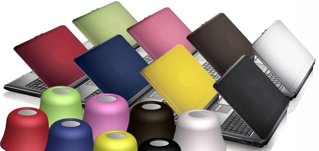 Цветни лаптопи